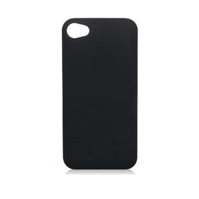 iPhone 4 / 4S に適用して1600mAhバッテリーを持ってバック?カバー(黒色)