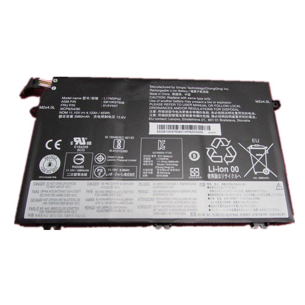 L17M3P52バッテリー交換