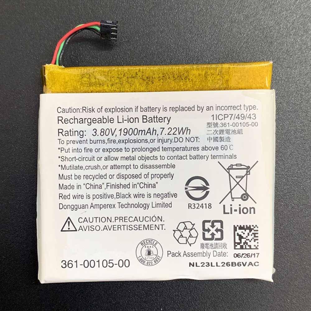 361-00105-00バッテリー交換