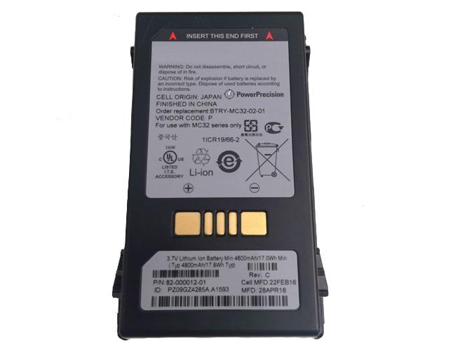 82-000012-01バッテリー交換