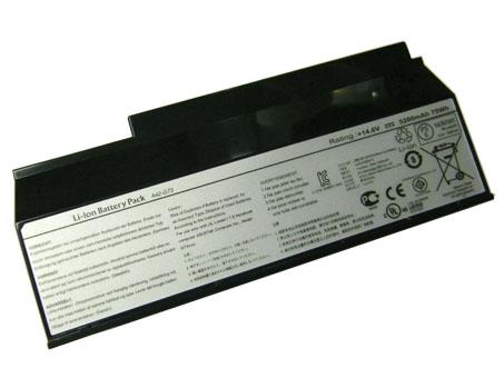 交換バッテリー ノート G73jw-tz181v 14.6V 70Wh asus ノートパソコン 互換 電池 PC