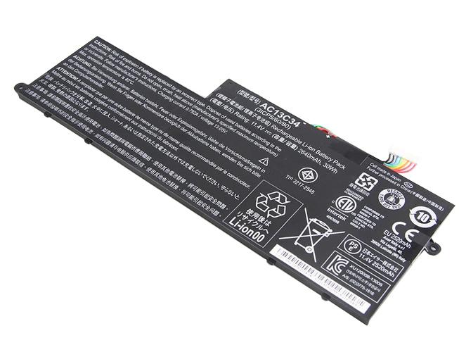 AC13C34ノートPCバッテリー