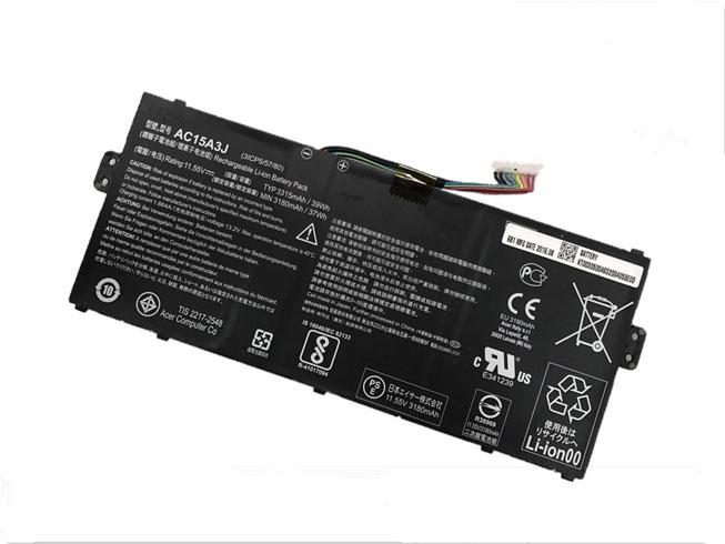 AC15A3J 交換バッテリー3315mAh/39Wh ACER AC15A3J ノートPCバッテリー