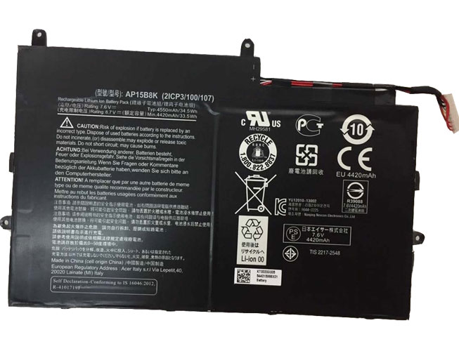 AP15B8Kバッテリー交換
