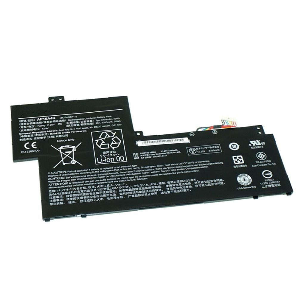 AP16A4Kバッテリー交換