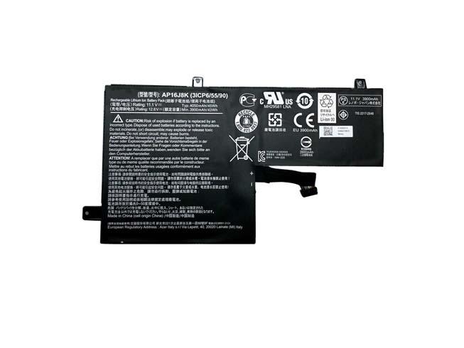 AP16J8Kバッテリー交換