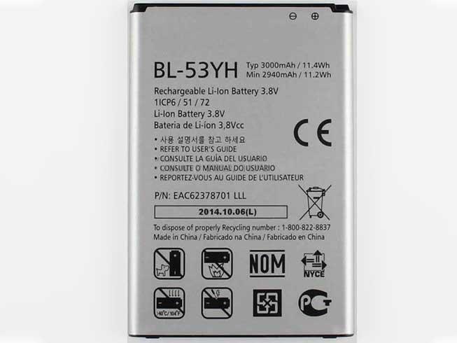 BL-53YHスマートフォンバッテリー