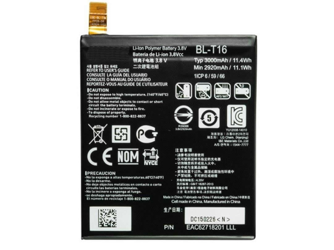 BL-T16電池パック