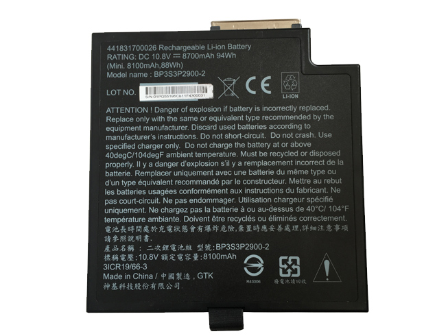 BP3S3P2900-2バッテリー交換