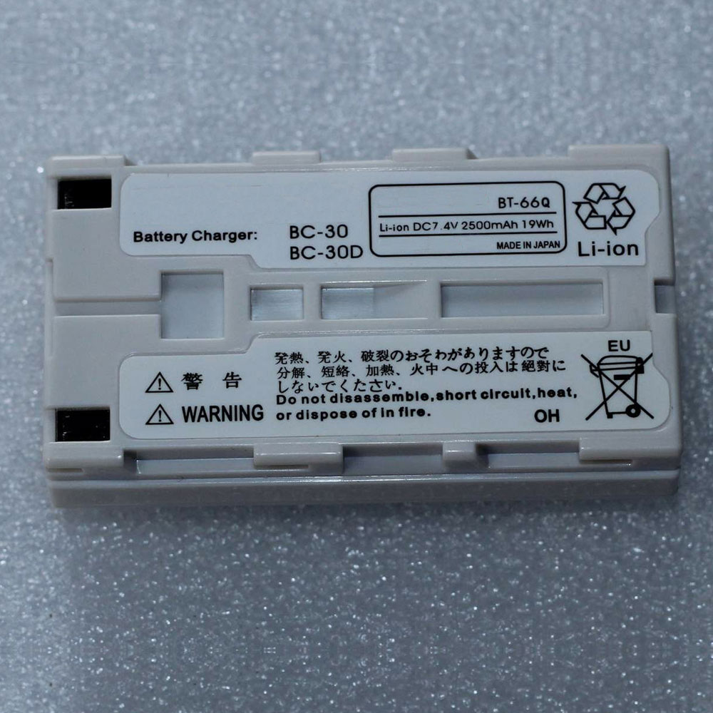 BT-66Qバッテリー交換