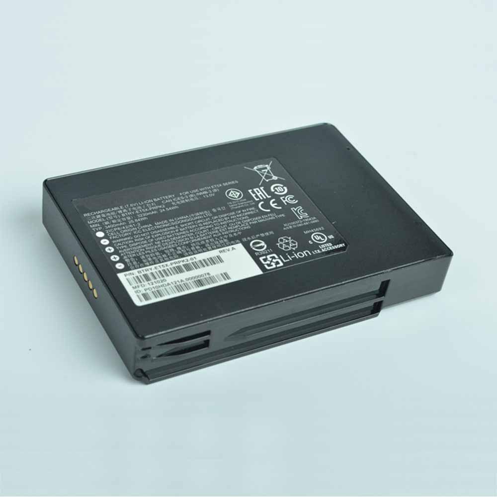 BTRY-ET5X-PRPK2バッテリー交換