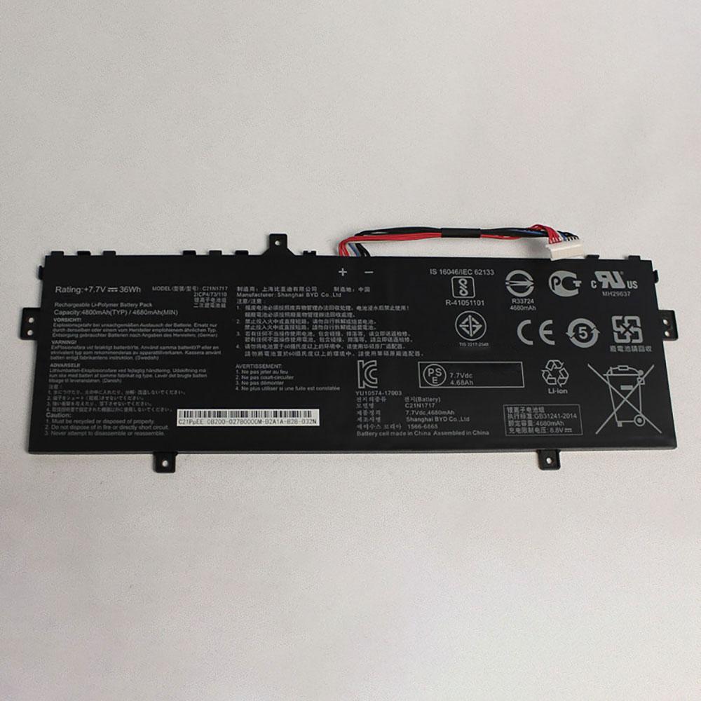 C21N1717バッテリー交換