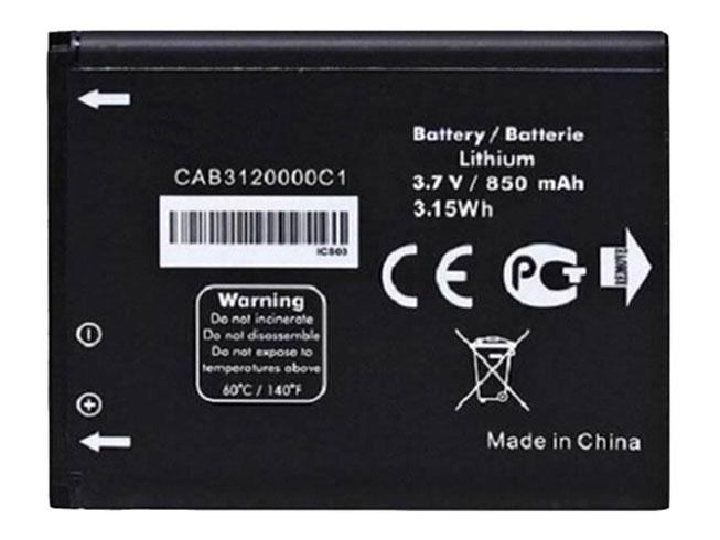 Alcatel 510A OT 800 OT 880a OT 710D 768T対応バッテリー