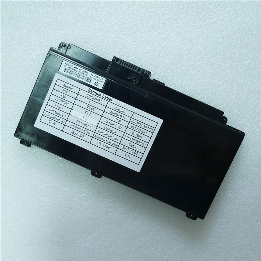 CD03XLバッテリー交換