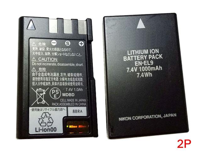 EN-EL9バッテリー交換
