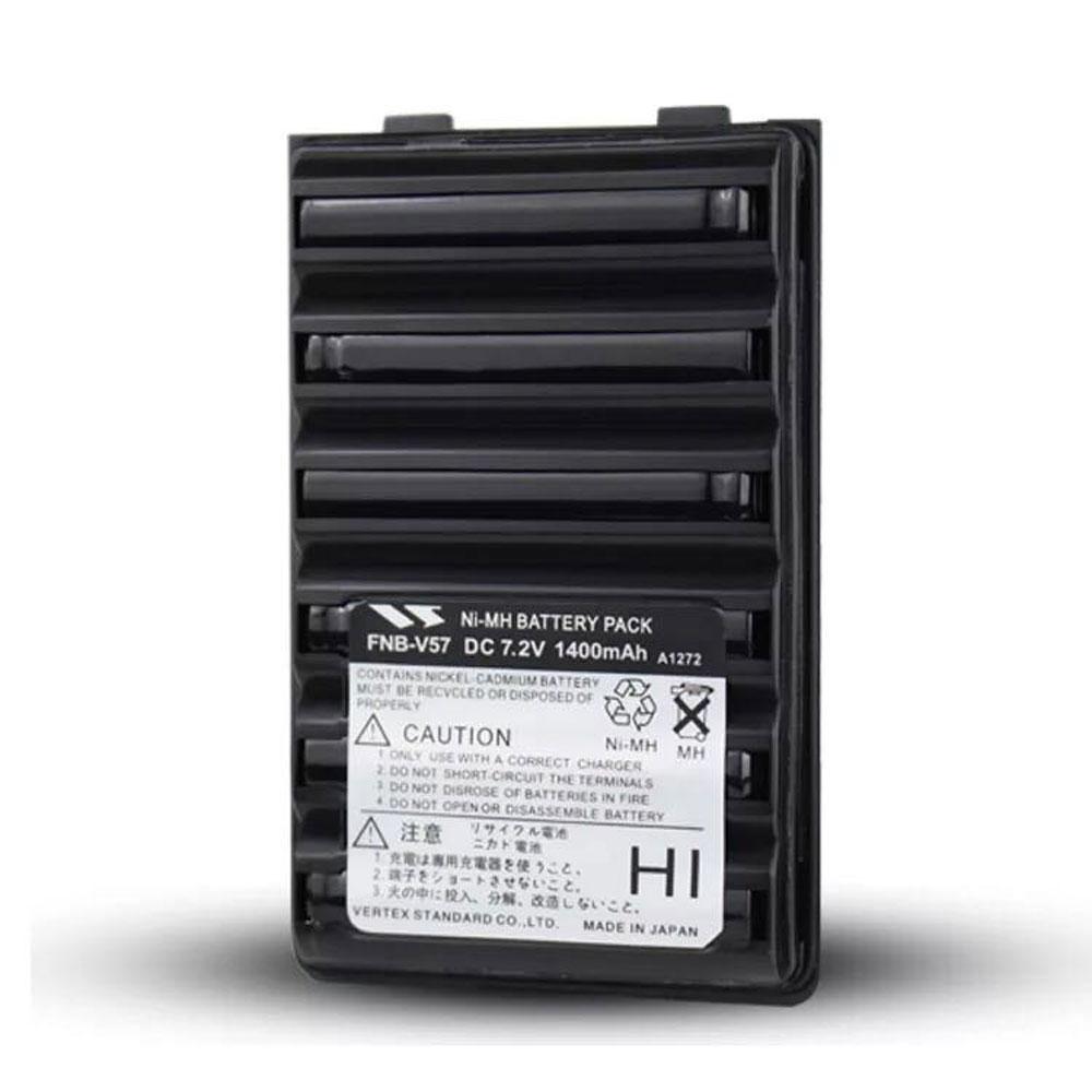 FNB-V57バッテリー交換