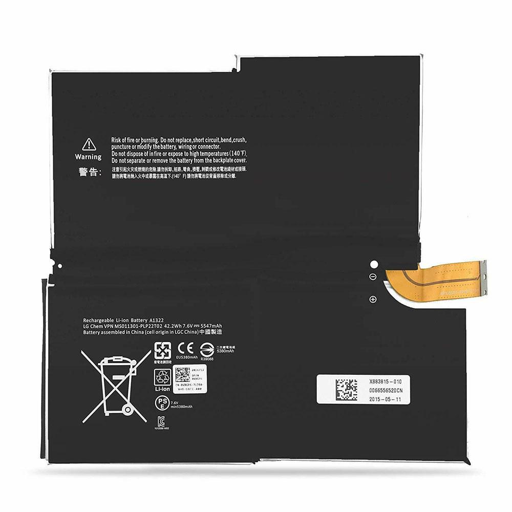 Microsoft Surface Pro 3 1631 1577 9700 Tablet対応バッテリー