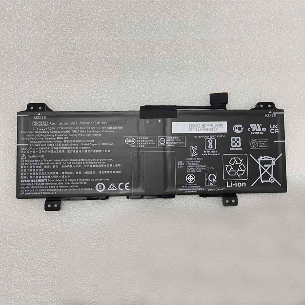 GH02XLバッテリー交換