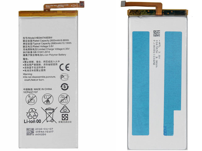 HB3447A9EBW電池パック