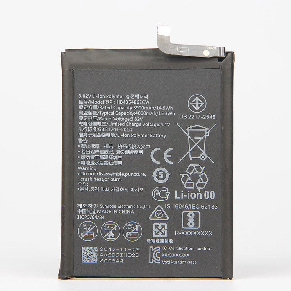 HB436486ECW電池パック