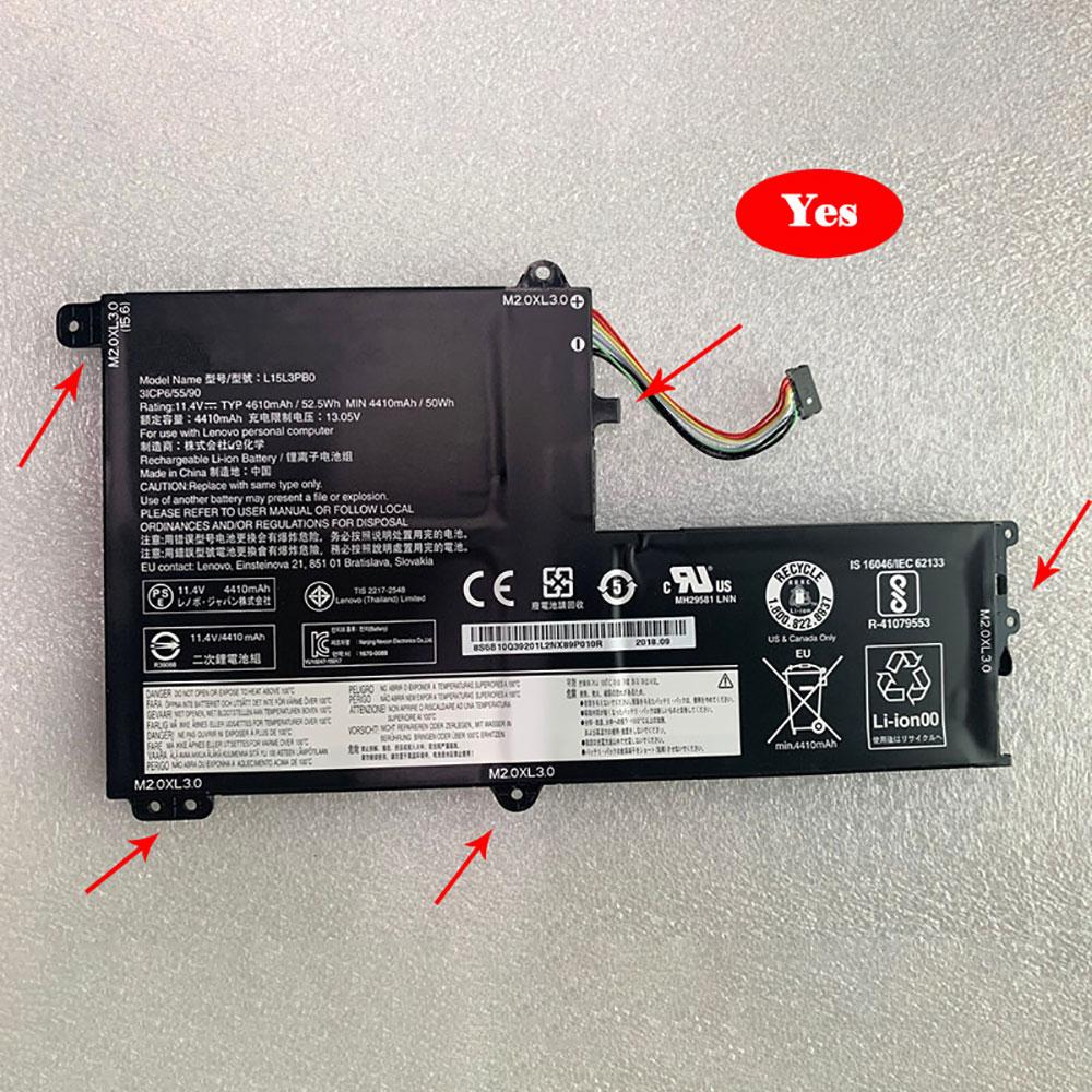 L15M3PB0バッテリー交換