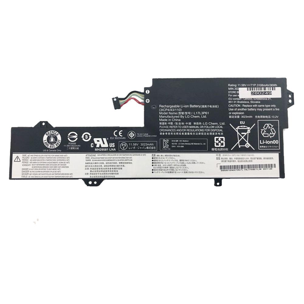 L17L3P61バッテリー交換