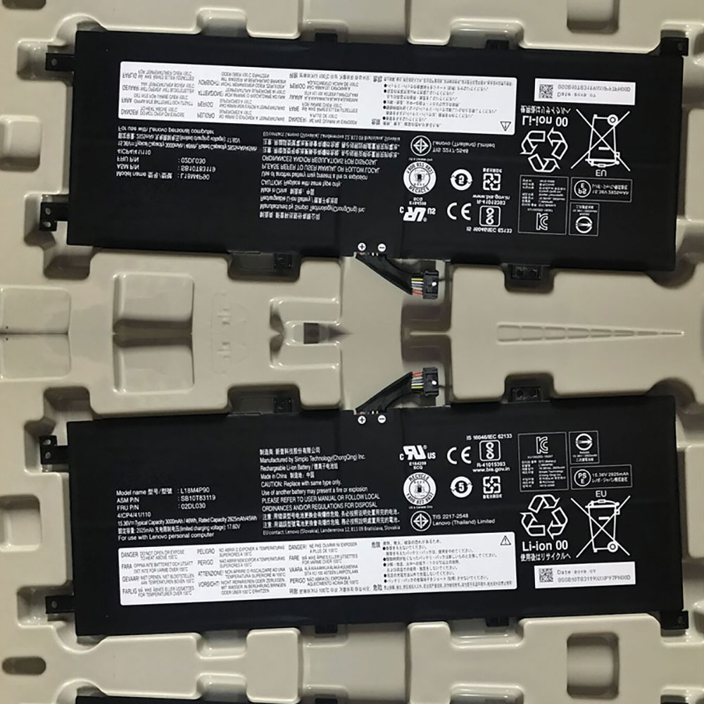 L18M4P90バッテリー交換