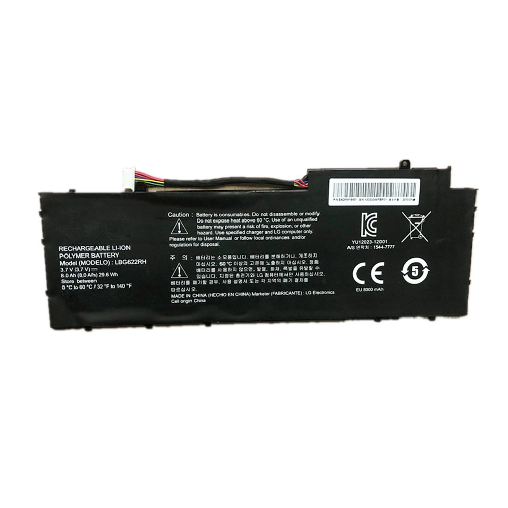 LBG622RHバッテリー交換