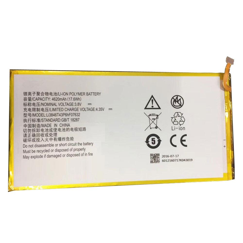 Li3846T43P6hF07632バッテリー交換
