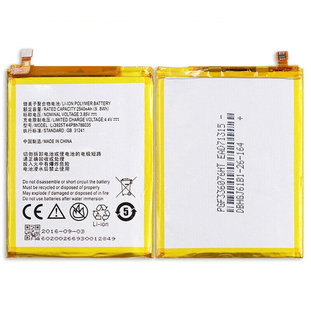 Li3925T44P8h786035電池パック