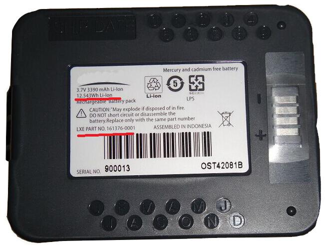 161376-0001バッテリー交換