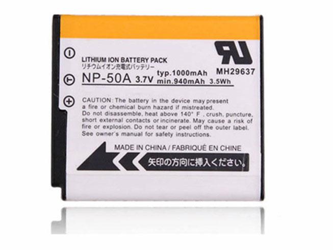 NP-50バッテリー交換