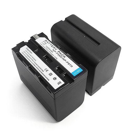 NP-F970バッテリー交換