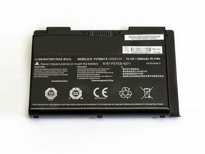 6-87-P37ES-4271バッテリー交換