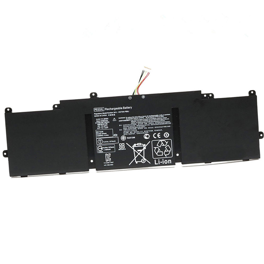 PE03XLバッテリー交換