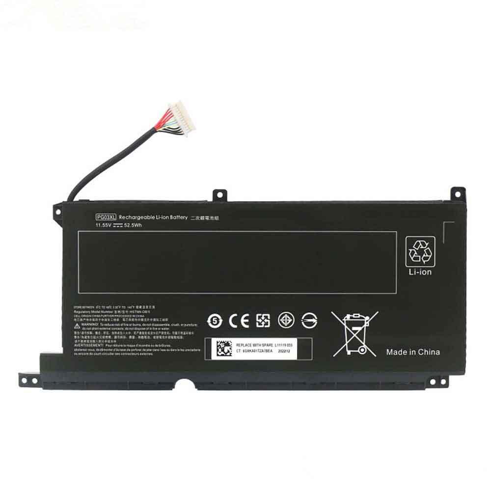 PG03XLバッテリー交換