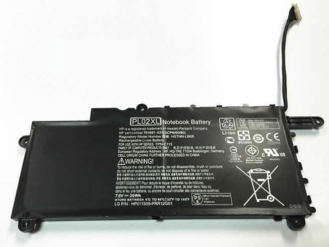 PL02XLバッテリー交換