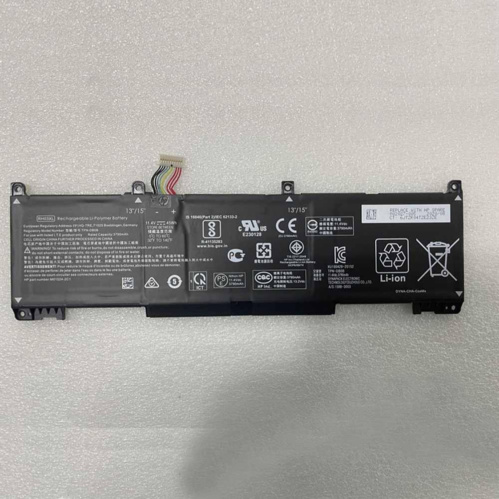 RH03XLバッテリー交換