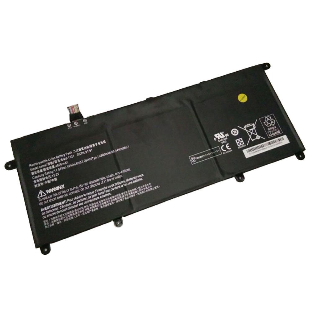 SQU-1721バッテリー交換