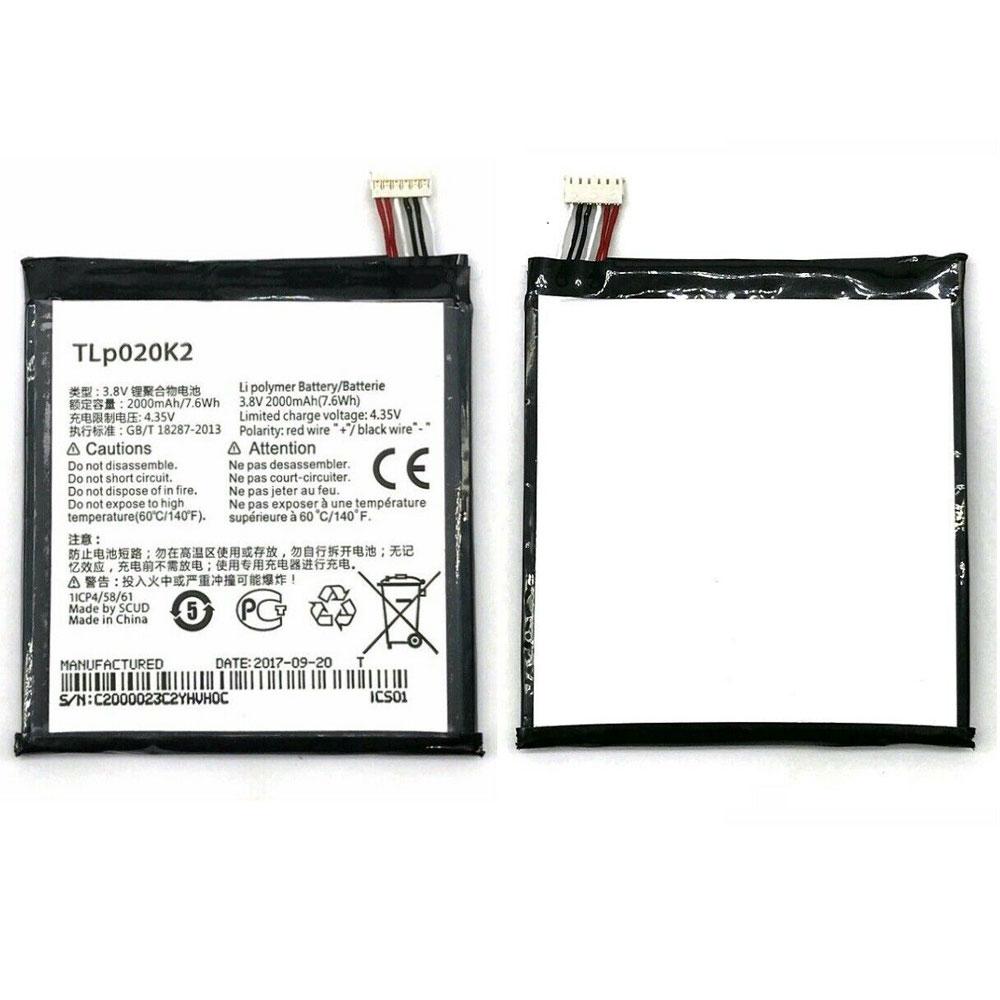 TLp020K2電池パック