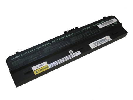 CLEVO TP80VBAT 6 BCVTP80VBAT4400B6対応バッテリー