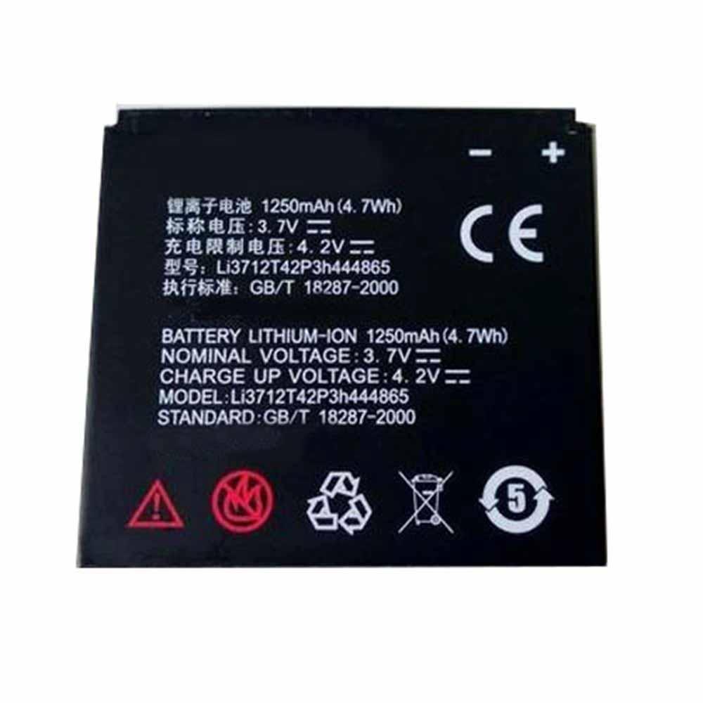 Li3712T42P3h444865電池パック