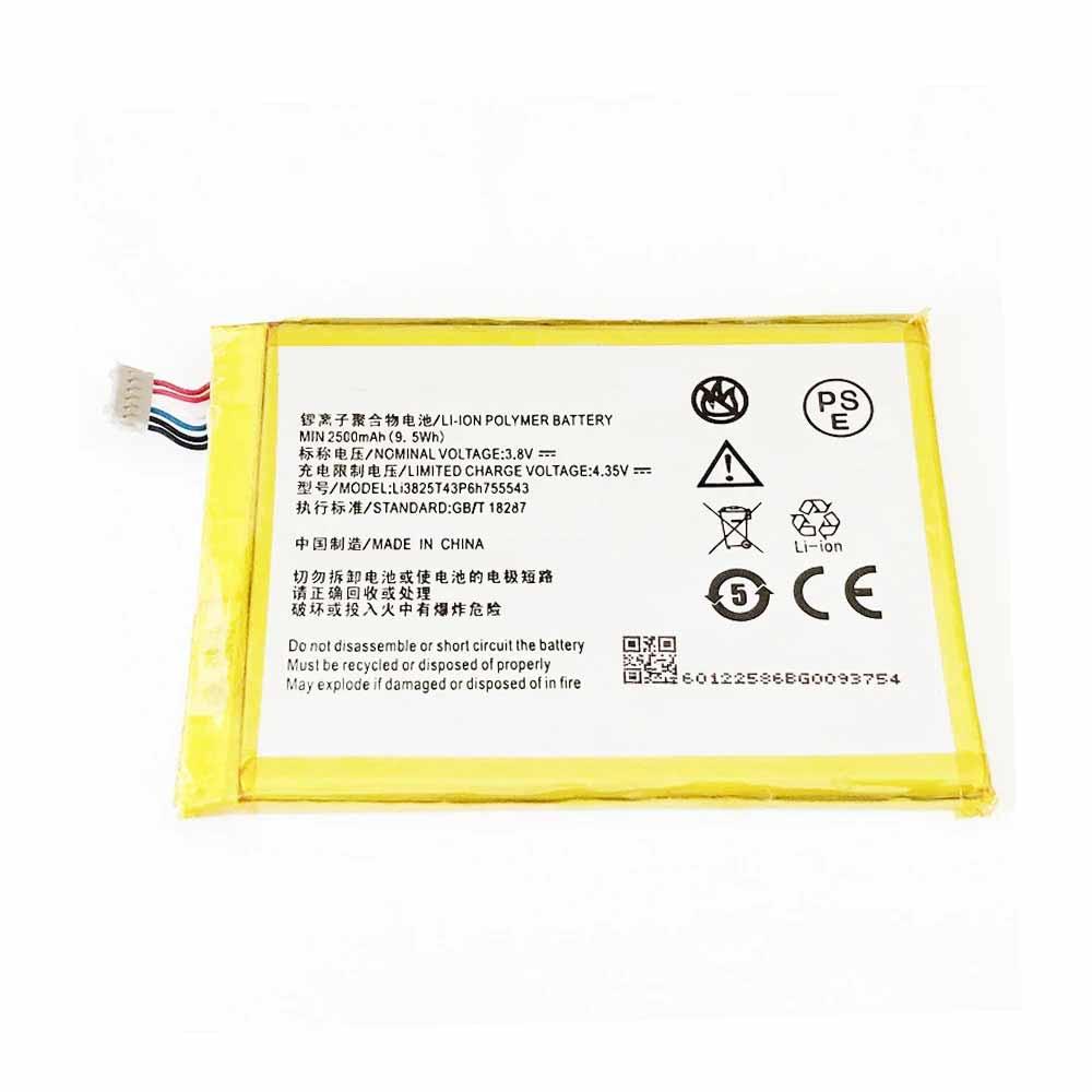 LI3825T43P6H755543電池パック