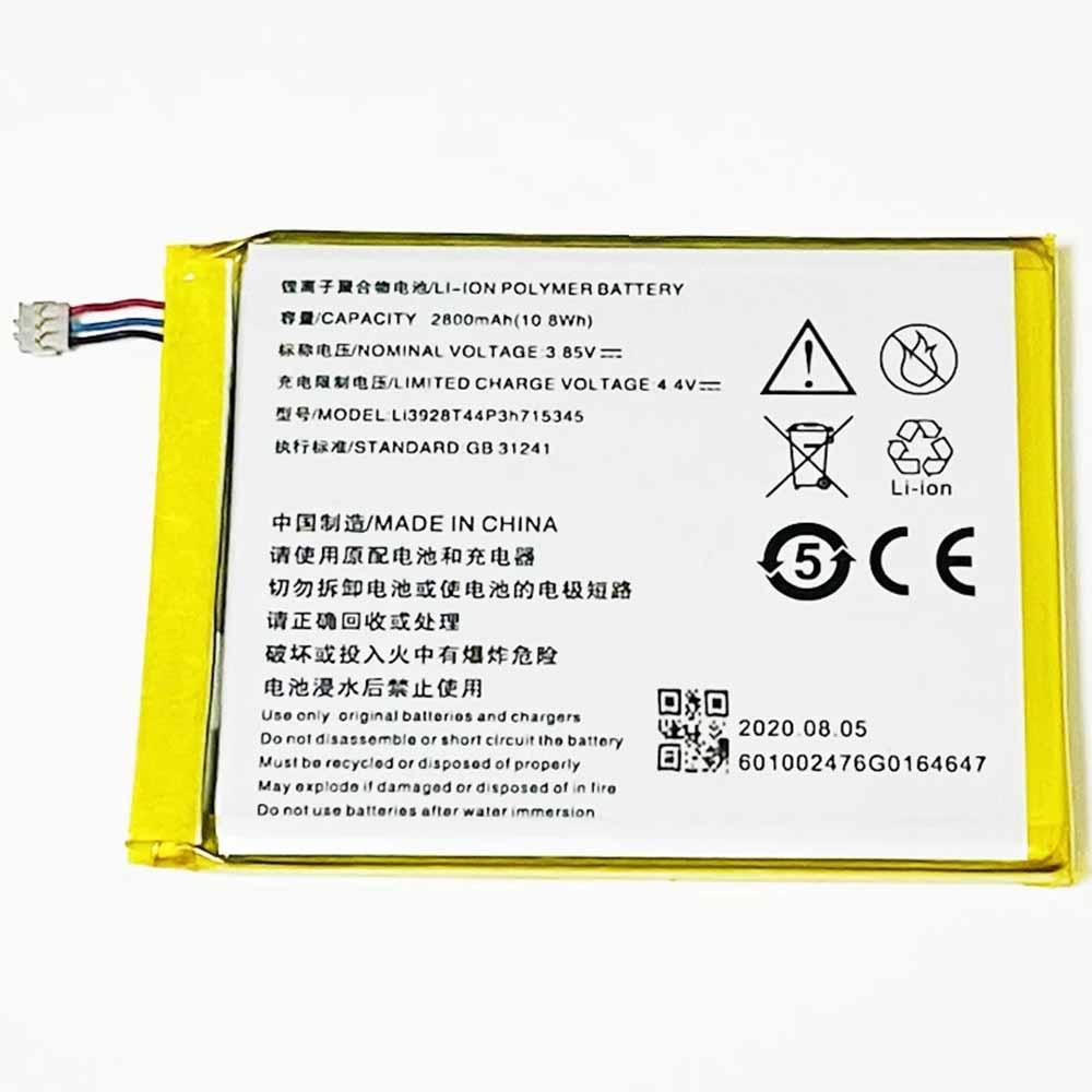 Li3928T44P3h715345電池パック