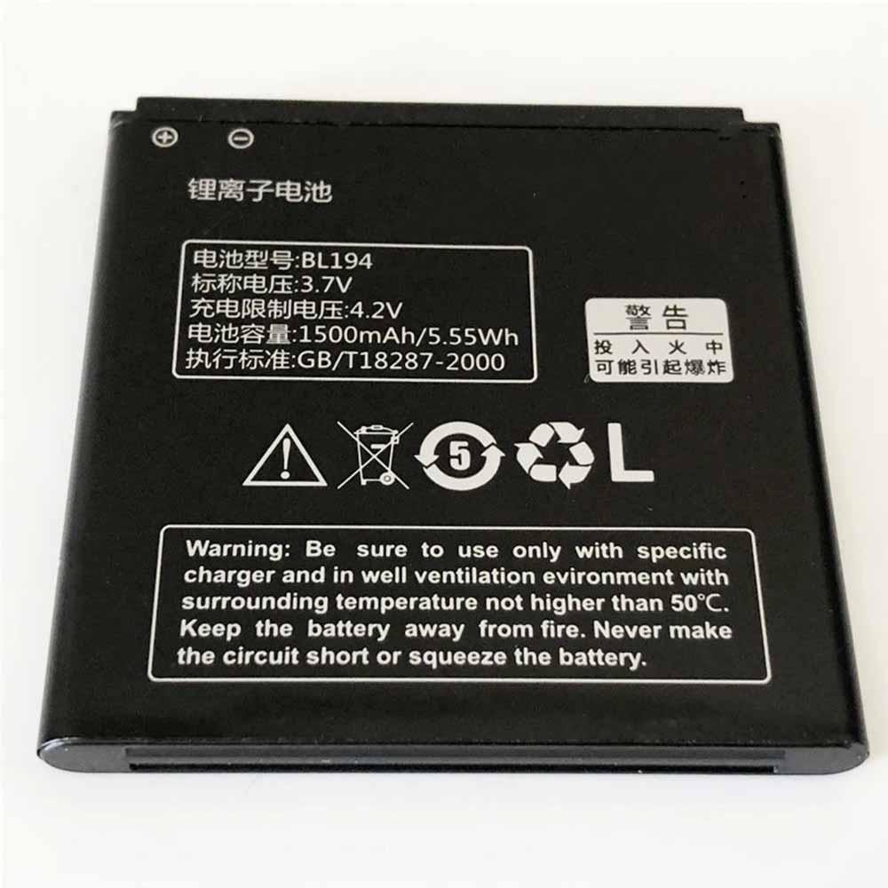 Lenovo A780 A790E A298t A530 A560E A360 A710E対応バッテリー