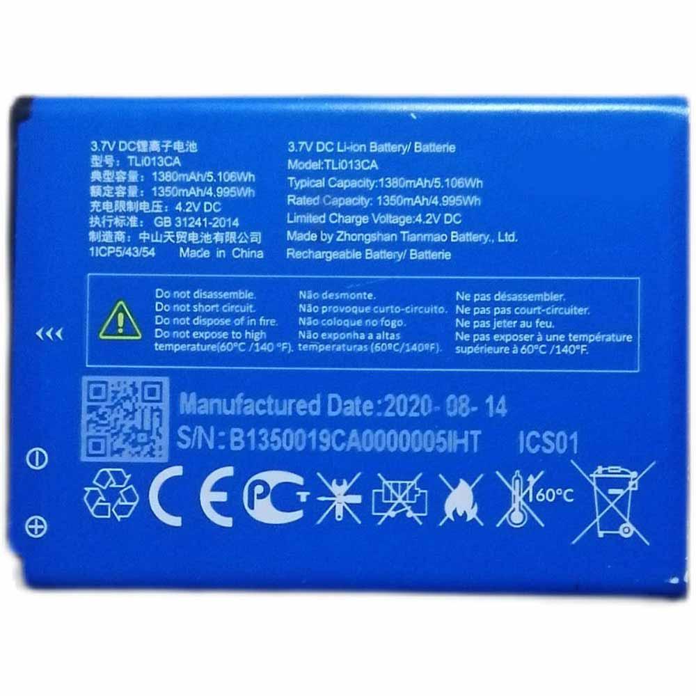 TLI013CAバッテリー交換