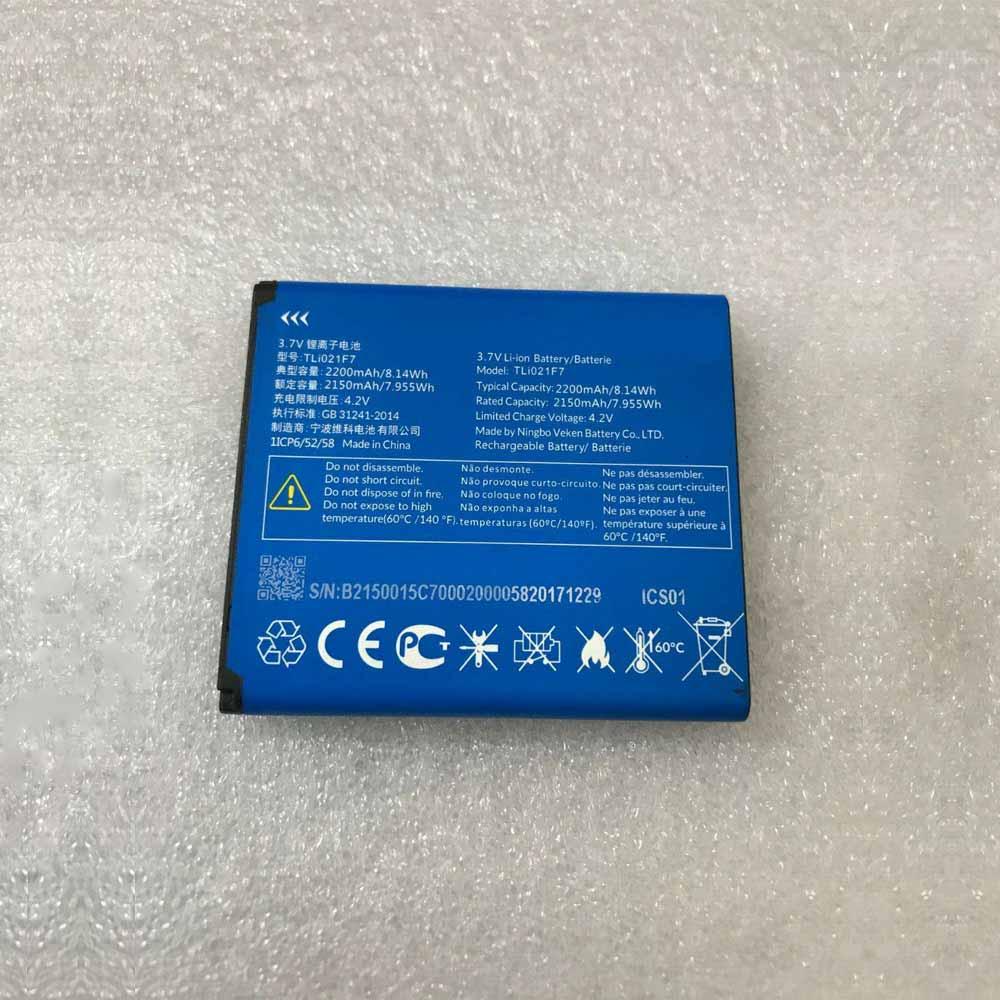TLi021F7バッテリー交換
